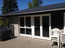 Ny terassedør og vindue